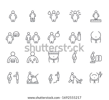 set of obesity related vector