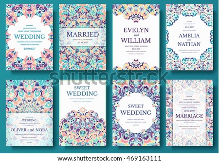 Magazine Layout Vector Set Of Old Ramadan Flyer Pages Ornament Illustration Concept Vintage Art Traditional Islam