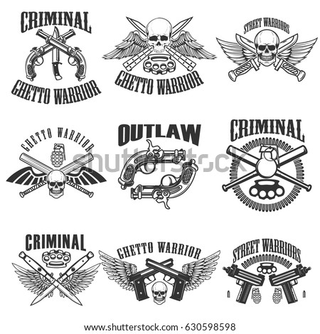 set of outlaw  criminal  street