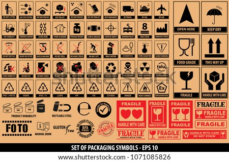 Handle With Care Stickers Free Vector Download Free Vector Art
