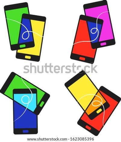 set of pairs of smartphones