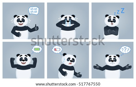 A sleeping panda - Download Free Vector Art, Stock Graphics & Images