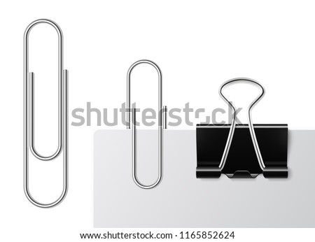 metal stationery clips download free vector art stock graphics