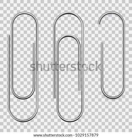 Set of paperclips