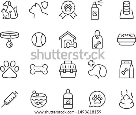 set of pet icons