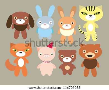 set of pets