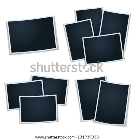Set of photos frames for your picture