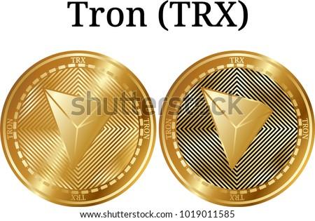 set of physical golden coin