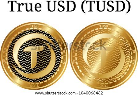 set of physical golden coin...