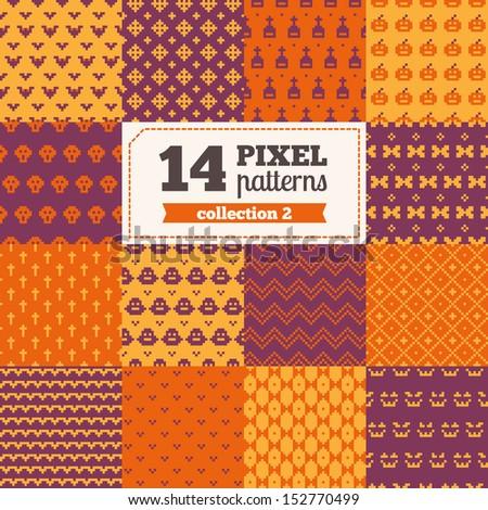 set of pixel patterns