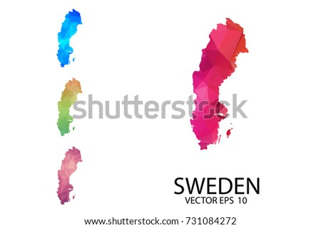 Free Sweden Map And Graphic Elements Download Free Vector Art - Sweden map blank