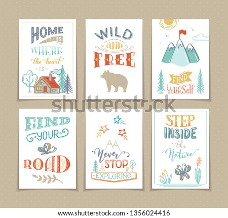 set of 6 pre made summer