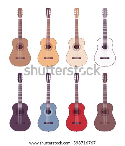 set of professional acoustic