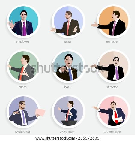 set of professional image