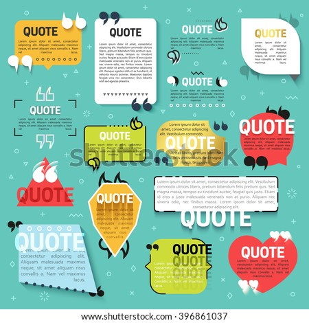 set of 15 quote for the web