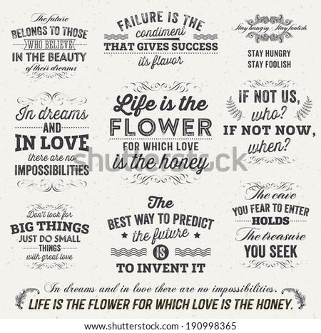 Typographic Motivational Poster Download Free Vector Art Stock