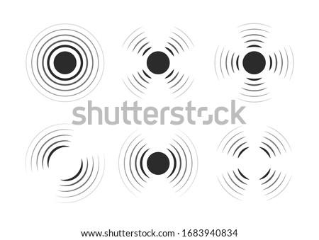 Sonar Wave Stock Illustrations – 365 Sonar Wave Stock Illustrations,  Vectors & Clipart - Dreamstime