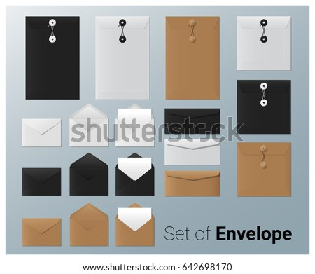 set of realistic envelope