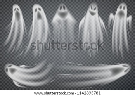 set of realistic ghosts