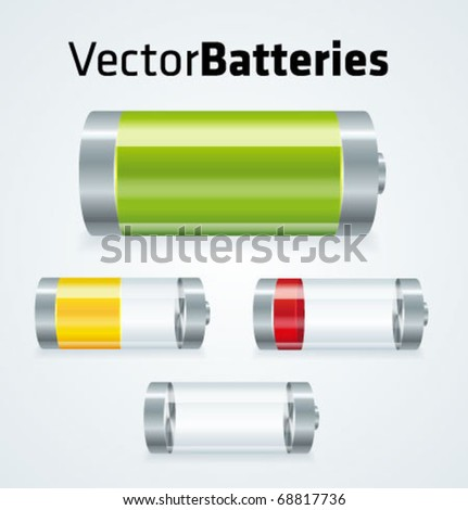 set of realistic vector