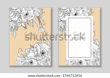 set of rectangular frame with