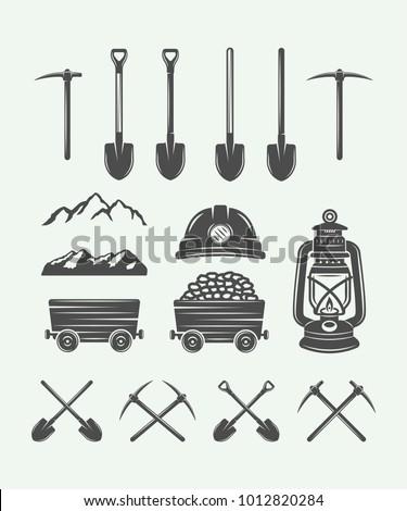 set of retro mining or...