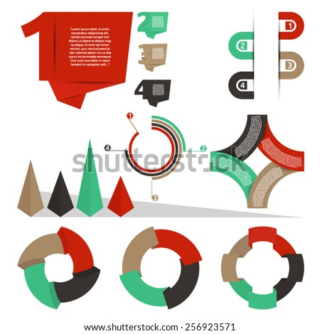 set of retro origami  info