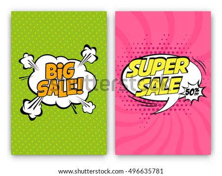 set of sale vector designs with