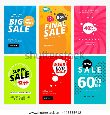 stock-vector-set-of-sale-website-banner-templates-vector-illustrations-for-social-media-banners-posters-email