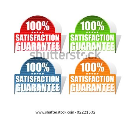 set of satisfaction guarantee labels