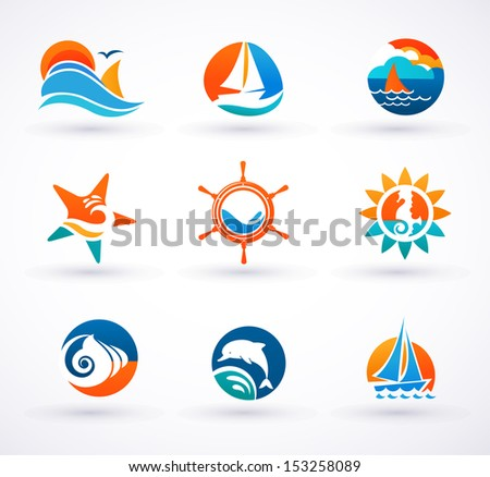 Sea Icons Download Free Vector Art Stock Graphics Images