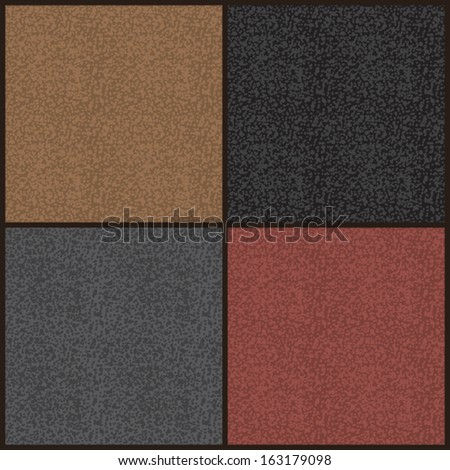 stock-vector-set-of-seamless-patterns-for-imitation-of-plush-short-fur-leather-rough-surfaces