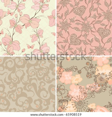 stock-vector-set-of-seamless-retro-patterns