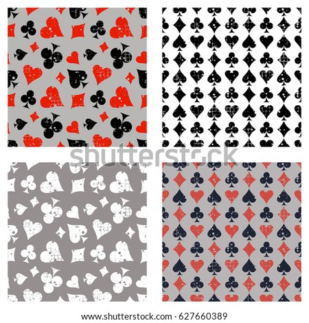 set of seamless vector abstract