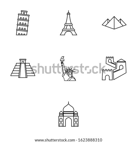 set of seven wonders of the