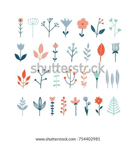 set of simple minimalistic