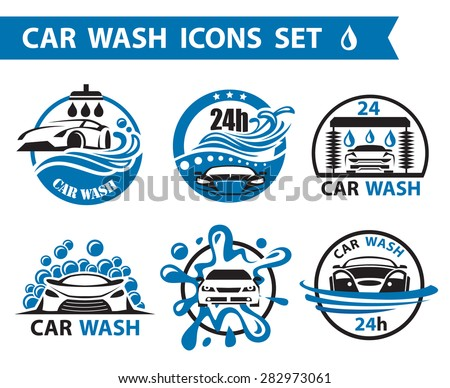 stock-vector-set-of-six-car-wash-icons
