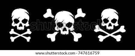 set of skull and bones