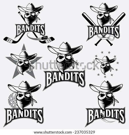 set of skull bandit sports...