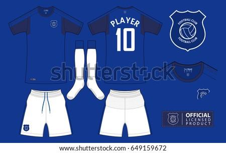 set of soccer kit or football
