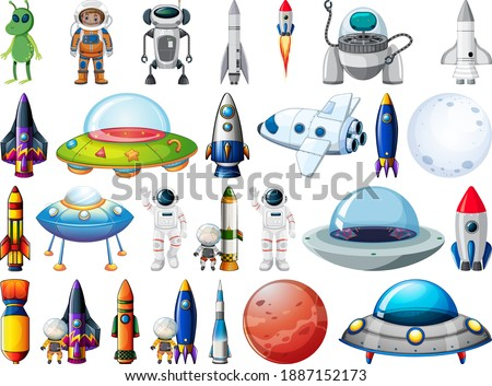 set of space objects and