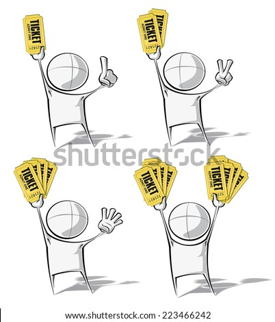 set of 4 sparse vector