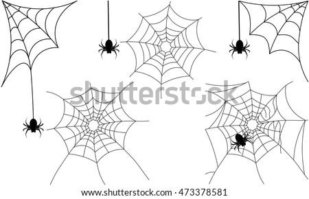 spider web vector set download free vector art stock graphics rh vecteezy com spider web vector download spider web vector art