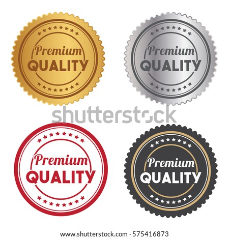 Set Of Stamp Tag Badge For Business Illustration Vector