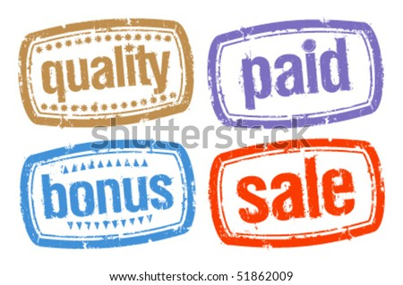 Set of stamps for best sales