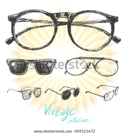 set of sunglasses and