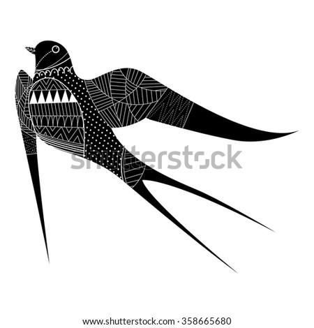 set of swallows icon