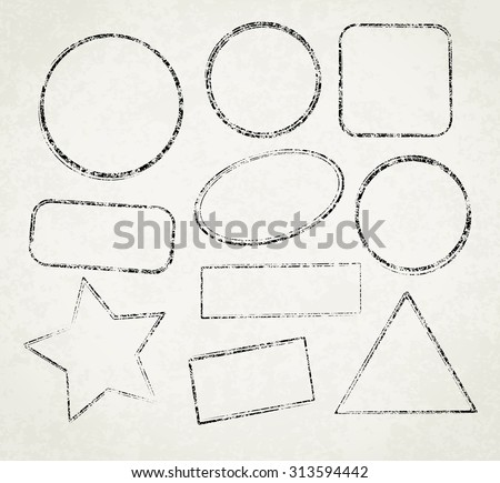 vintage office rubber stamps brushes free photoshop brushes at