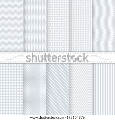 stock-vector-set-of-ten-subtle-seamless-patterns-monochrome-classic-soft-colors-swatches-of-seamless