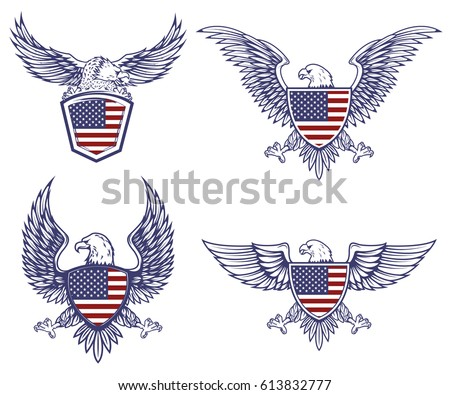 Bald Eagle Graphics - Download Free Vector Art, Stock Graphics & Images